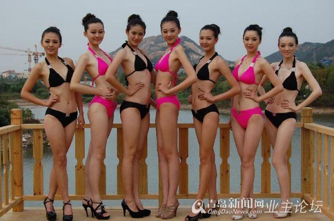 这届的新丝路模特大赛的美女还真不错,个个身材绝佳,穿上泳装