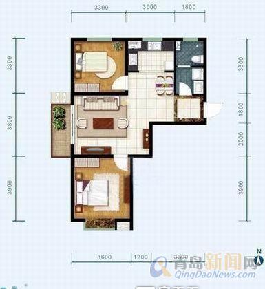 西户150平方三室两厅两卫装修效果图