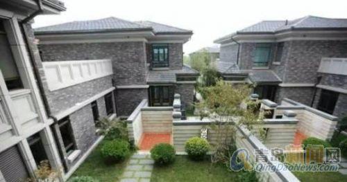 科达天意华苑朝棠山别墅,中国式的院子