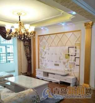 豪华装修带全套欧式家具