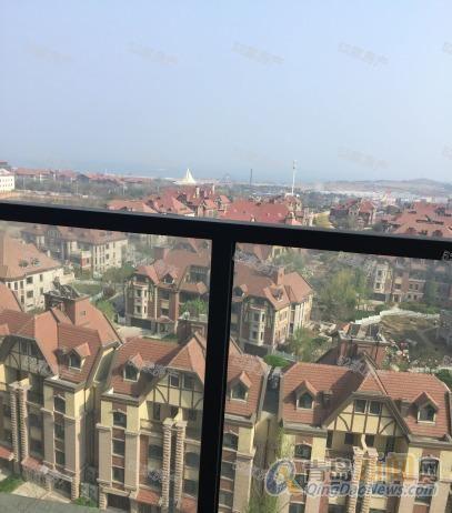52家房产 青岛印象金沙滩 南排海景 套二 仅租2600月 看图-整租