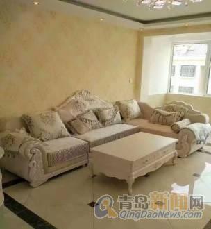 豪华装修上下复试,带欧式家具,全明户型南向大厅,地暖底屋