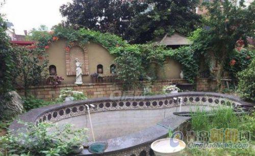 雕塑园,欧式独栋别墅,水系庭院,带大车库,150平海景露台