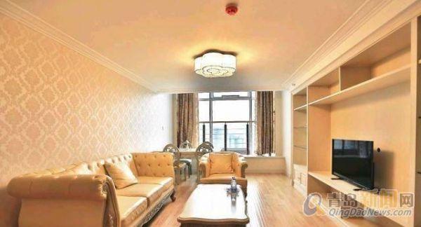 中南金石欧式复式装修,家具家电齐全 海景房,购物便利 -整租