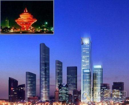 深蓝青岛性建筑迪拜塔原班人马看山看海豪装现房,青岛市南五四广场