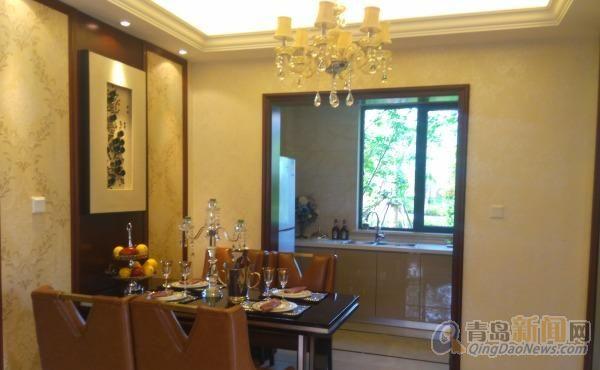 新出丽山国际别墅 现房出售价格美丽 带院子带地下室随时看房,青岛