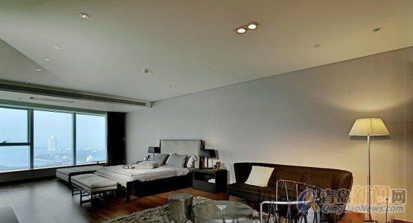 万丽别墅空中别墅-房源出售-二手房二层-青岛效果图海景平顶住宅图片