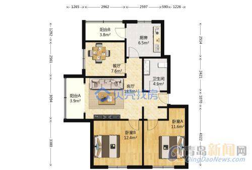 满五,攻略好,适合居家,低楼层,西明厅77电影网站前任位置图片