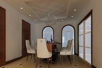 餐厅空间较为开阔 简洁