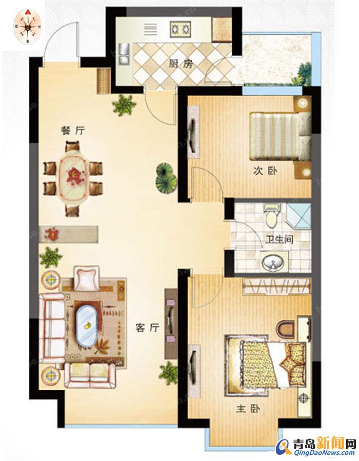 90平方米住宅装修招标书68号 预算半包3 5万 青岛新闻网家居装修招