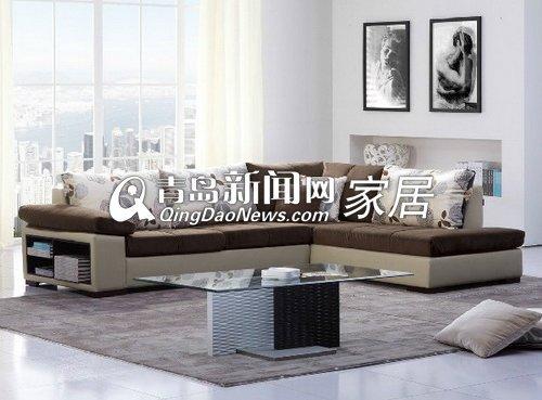 顾家家居布艺沙发简约现代客厅沙发组合2238图片