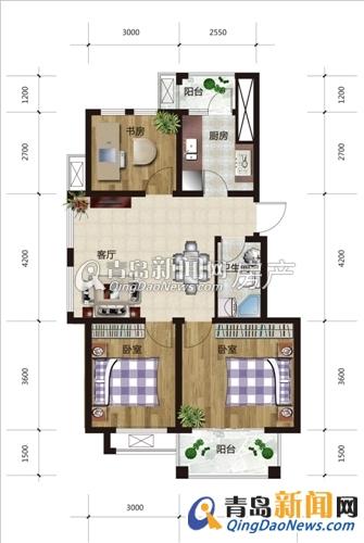 89平方米住宅装修招标书196号 预算半包1 3万 青岛新闻网家居装修高清图片