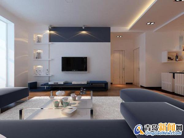 三室两厅 住宅装修-青岛基鸿装饰 青岛基鸿装饰装修效果图 青岛新闻网高清图片