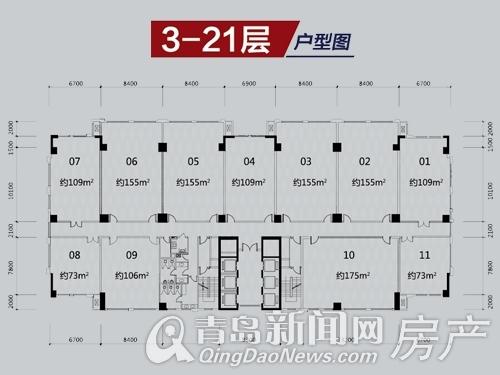 中海国际广场,李沧区,双地铁,中小企业,写字楼,青岛新闻网房产