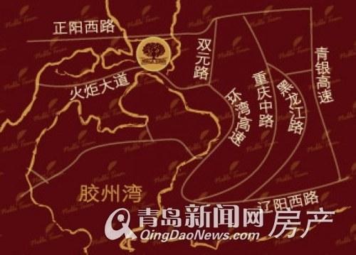 世茂,公园美地,高新区核心,青岛新闻网房产