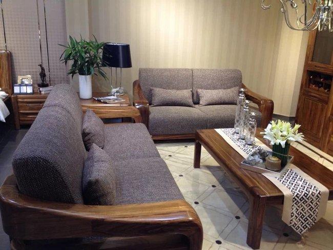 布艺沙发(咖啡色)1+2+3