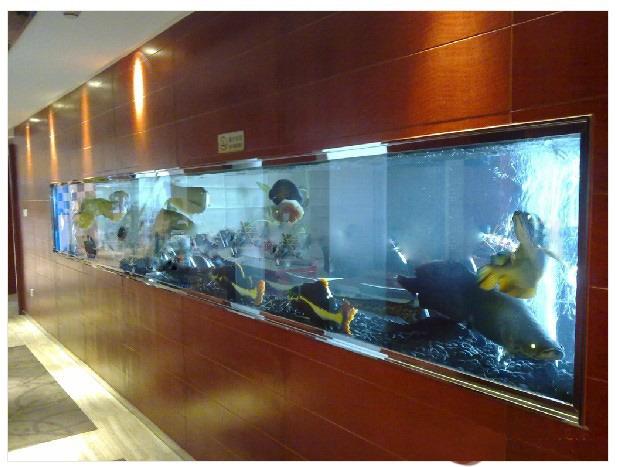 海洋生态水族专业定制观赏鱼缸