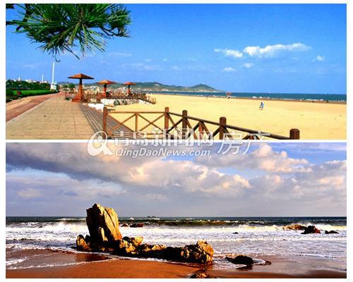 西海岸,金沙滩,银沙滩,青岛,旅游,浴场,青岛新闻网
