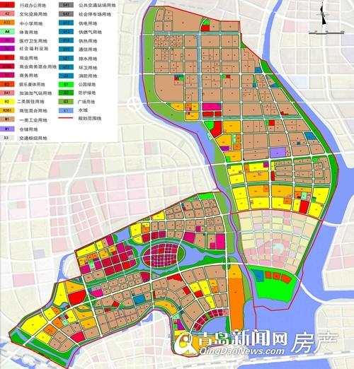 高新区新规划,公园美地,世茂,青岛新闻网房产