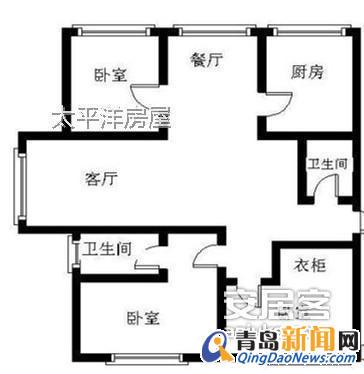 100平方米套房屋设计图