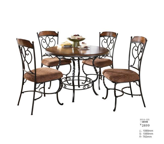 铁艺餐桌餐椅