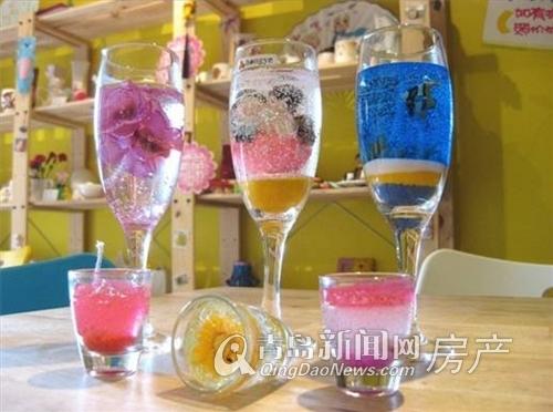 水晶蠟燭diy圖片