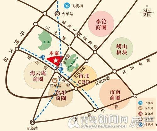 秀兰 禧悦都,近三大商圈,青岛新闻网房产