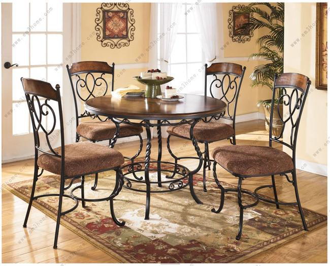 美式餐桌+四椅