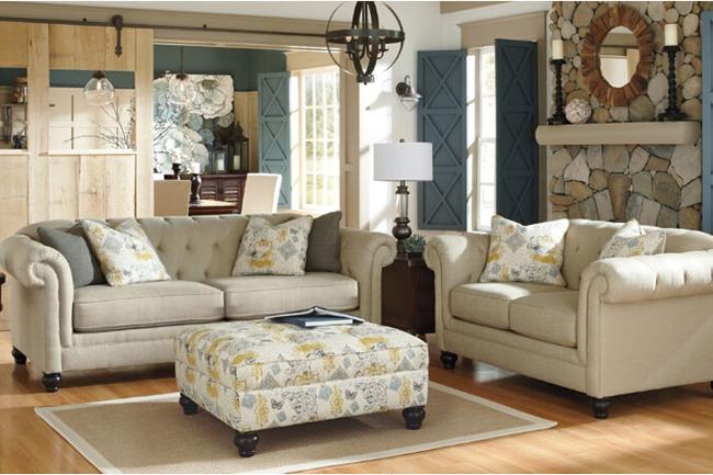 美式现代风格布艺沙发 双人位 三人位 单椅