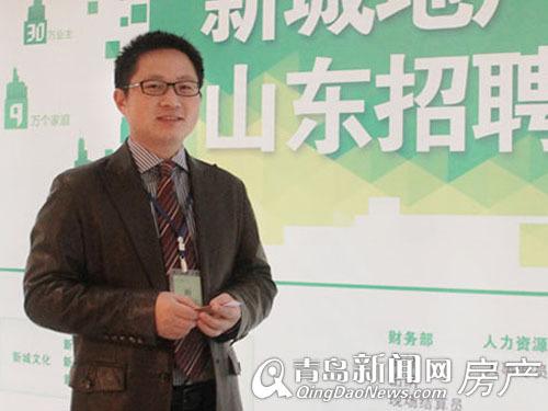 专访,张波,新城地产,青岛新闻网