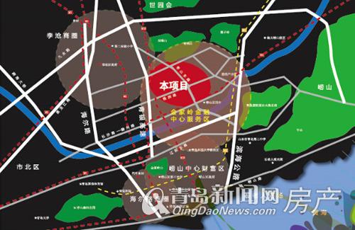 中联,依山伴城,崂山,金家岭金融新区,新盘,青岛新闻网