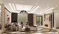 客厅方案设计二:纯客厅空间,壁炉设计配上装饰画,整个客厅贵族范十足 设计说明:本案采用欧式新古典风格,本案设计无论是家具还是配饰均以其优雅、唯 美的姿态,平和而富有内涵的气韵,描绘出居室主人高雅、贵族之身份。 常见的壁炉、水晶宫灯、罗马古柱亦是新古典风格的点睛之笔。中西合璧, 使东方的内敛与西方的浪漫相融合,也别有一番尊贵的感觉。