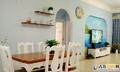 餐厅:纯白桌角椅背+亮棕色桌面,清新不乏稳重  装修方式:轻工辅料 装修造价:2.8万 设计师:范凯 设计案例:有一种叫地中海的装修风格悄然流行,时尚小清新!