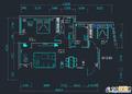 平面图  装修方式:轻工辅料 装修造价:2.5万 设计师:王开艳 设计说明:本案采用新中式风格,将现代元素与传统文化相结合,给传统文化 注入新的生机。