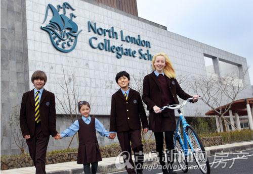 英语教育城学校今年建成并成立15所将于学校,高中采用从幼儿园到心得高中会考国际图片