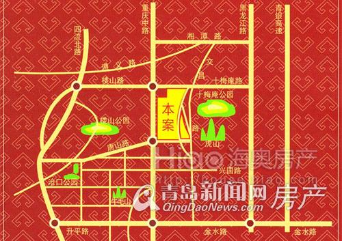 中南世纪城,克鲁兹小镇,李村,地铁M1,青岛新闻网