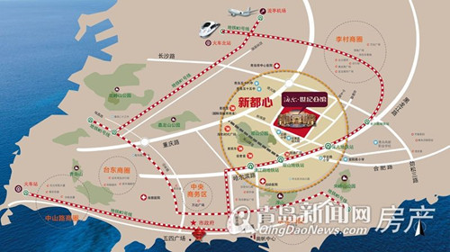 海尔世纪公馆,新都心,新盘面市,大型社区,青岛新闻网