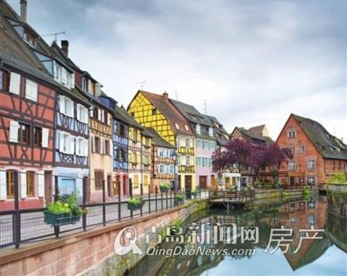 法国科尔马小镇-世界那么美 一定要去的6大绝美小镇