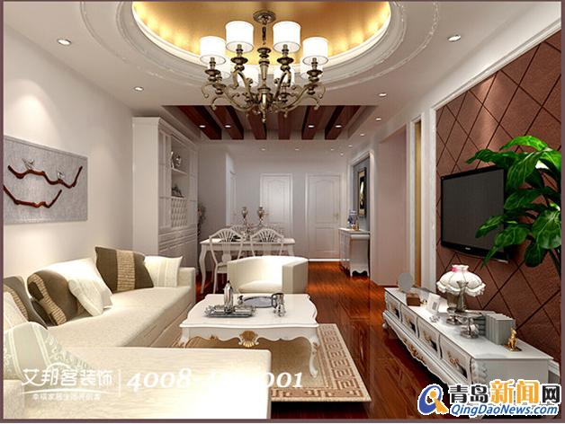 三室两厅 住宅装修-青岛艾邦客装饰 青岛艾邦客装饰装修效果图 青岛新高清图片