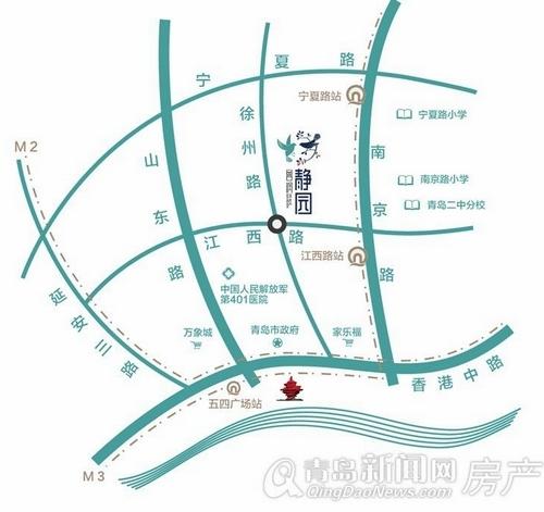 鲁润静园,市南新盘,江西路,徐州路,青岛新闻网房产