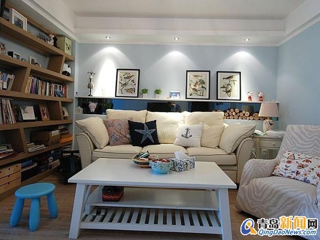 三室两厅 住宅装修-生活家家居 生活家家居装修效果图 青岛新闻网家居高清图片