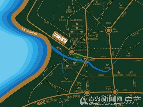 华融蓝海洋望海,市北区,海岸路,青岛新闻网房产