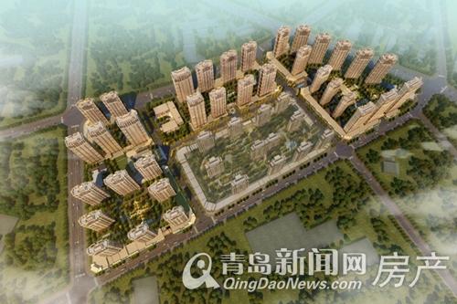 中联建业,依山伴城,崂山,金家岭金融区,青岛新闻网