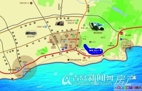海信依云小镇,区位图,青岛新闻网房产