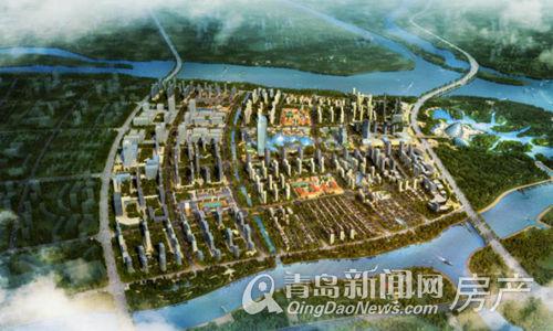 中欧国际城,高新,鸟瞰图