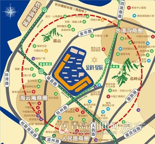 金科星辰,四方街,商铺,市北,青岛新闻网