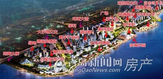 欢乐滨海城,规划图,区域新盘盘点,青岛新闻网房产