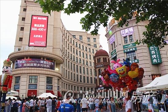 鲁邦国际风情街,商铺,正阳路,城阳区,青岛新闻网