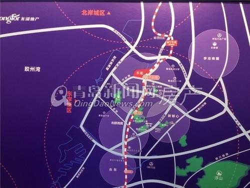 龙湖春江郦城,区位图,青岛新闻网房产
