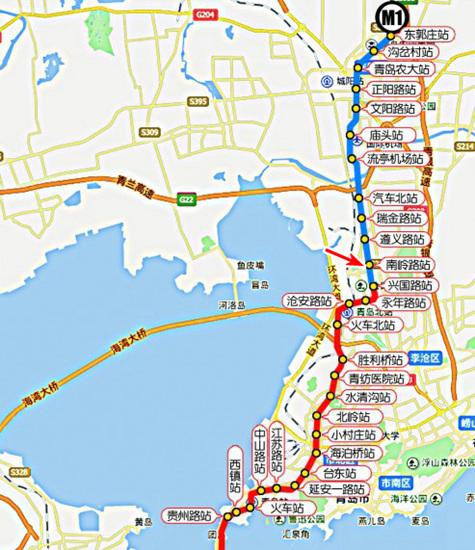 中南世纪城,克鲁兹小镇,地铁M1,李沧区,青岛新闻网